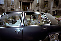 Le camp du OUI au referendum de 1980 , le 17 mai 1980.<br /> <br /> PHOTO : Agence Quebec Presse