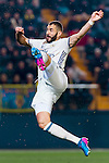 Karim Benzema of Real Madrid in action during their La Liga match between Villarreal CF and Real Madrid at the Estadio de la Cerámica on 26 February 2017 in Villarreal, Spain. Photo by Maria Jose Segovia Carmona / Power Sport Images
