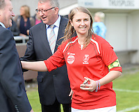 Finale Beker van West-Vlaanderen Dames : FC Menen United - KEG Gistel : Cindy Beerlandt <br /> foto VDB / BART VANDENBROUCKE