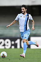 Luis Alberto of SS Lazio during the Serie A football match between Hellas Verona and SS Lazio at stadio Marcantonio Bentegodi in Verona (Italy), July 26th, 2020. Play resumes behind closed doors following the outbreak of the coronavirus disease. <br /> Photo Daniele Buffa / Image Sport / Insidefoto