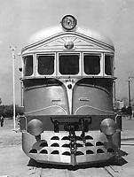 Primera locomotora diesel eléctrica fabricada en la Argentina, 1952.