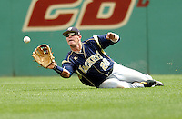 Georgia Tech OF Chase Burnette in action vs. Boston College at Shea Field on May 22, 2010 in Chestnut Hill, MA (Photo by Ken Babbitt/Four Seam Images)
