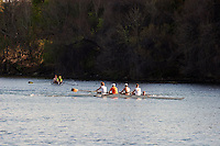 Rowing team trains Lake Austin