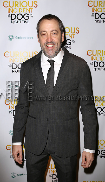 Ian Barford attends the Broadway Opening Night Performance After Party for 'The Curious Incident of the Dog in the Night-Time'  at Urbo on October 5, 2014 in New York City.