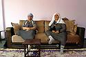 Turkey 2015<br /> Twins in a living-room in Dogubayazit  <br /> Turquie 2015  <br /> Des jumelles dans le salon d'une maison a Dogubayazit<br /> تورکیا 2015 ، لفه دوانه کان له تالاری خانوویه ک له دوغووبایزیت