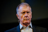 Thursday  29 May 2014, Hay on Wye, UK<br /> Pictured: Sir Geoff Hurst  <br /> Re: The Hay Festival, Hay on Wye, Powys, Wales UK.