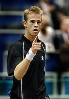 20-2-07,Tennis,Netherlands,Rotterdam,ABNAMROWTT,  Vliegen jubilates his first round victory