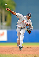 11 March 2008: Detroit Tigers' pitcher Denny Bautista on the mound during a Spring Training game against the Cleveland Indians at Chain of Lakes Park, in Winter Haven Florida.The Tigers rallied to defeat the Indians 4-2 in the Grapefruit League matchup....Mandatory Photo Credit: Ed Wolfstein Photo