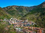 Frankreich, Provence-Alpes-Côte d'Azur, Lucéram: Bergdorf (Village Perché) in den franzoesischen Seealpen   France, Provence-Alpes-Côte d'Azur, Lucéram: mountain village (Village Perché) in the French Maritime Alps