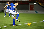 Hamilton Accies v St Johnstone…06.02.19…   New Douglas Park    SPFL<br />Liam Craig scuffs his shot at goal<br />Picture by Graeme Hart. <br />Copyright Perthshire Picture Agency<br />Tel: 01738 623350  Mobile: 07990 594431