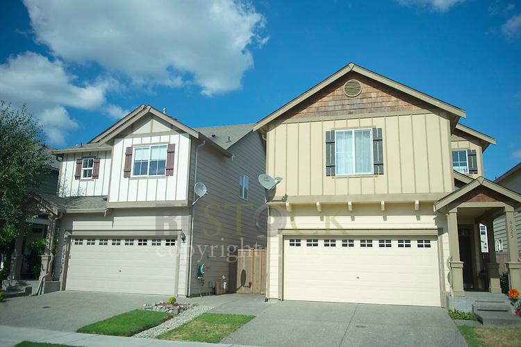 Two Houses in a Neighborhood