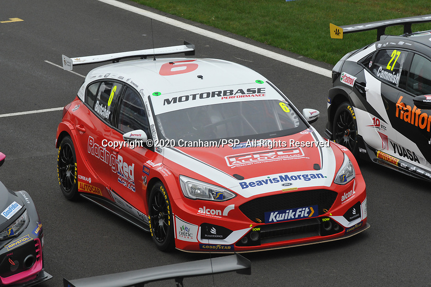 2020 British Touring Car Championship Media day. #6 Rory Butcher. Motorbase Performance. Ford Focus ST.
