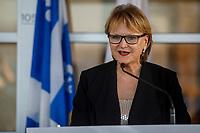 Annonce parc industriel<br /> voie maritime<br /> Merlini<br /> Ville Sainte-Catherine <br /> <br /> PHOTO :   Agence Quebec Presse