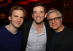 Ryan Spahn, Michael Urie and Neil Pepe attends The New York Drama Critics' Circle Awards at Feinstein's/54 Below on May 10, 2018 in New York City.