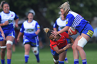 Action from the Rebecca Liua'ana Trophy women's premier Wellington club rugby match between Marist St Pat's and Northern United at Kilbirnie Park in Wellington, New Zealand on Saturday, 17 April 2021. Photo: Dave Lintott / lintottphoto.co.nz