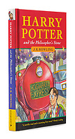 BNPS.co.uk (01202 558833)<br /> Pic:HindmanAuctions/BNPS<br /> <br /> A rare first edition copy of Harry Potter and the Philosopher's Stone has sold for £116,000. ($150,000)<br /> <br /> The hardback is one only 500 copies printed in its initial run in 1997 and was signed at the time by author J.K Rowling.<br /> <br /> Of the original editions, 300 went to libraries and 200 went to private individuals including family and friends.<br /> <br /> The first print run contained various spelling mistakes which were then corrected in later editions.