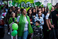 The Grenfell Silent Walk exactly two years after the disaster. 14-6-19
