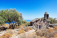 An old chapel in Mani, Greece