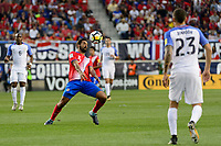 Harrison, NJ - Friday Sept. 01, 2017: Celso Borges during a 2017 FIFA World Cup Qualifier between the United States (USA) and Costa Rica (CRC) at Red Bull Arena.