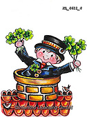 NY, paintings+++++,KL4611/4,#ny#, EVERYDAY ,sticker,stickers, new year's eve ,chimney sweeper