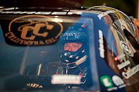 May 3, 2019; Commerce, GA, USA; NHRA funny car driver Jim Campbell during qualifying for the Southern Nationals at Atlanta Dragway. Mandatory Credit: Mark J. Rebilas-USA TODAY Sports