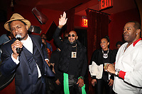 NEW YORK, NY- SEPTEMBER 12: Super Cat, Swizz Beatz and Busta Rhymes pictured at Swizz Beatz Surprise Birthday Party at Little Sister in New York City on September 12, 2021. Credit: Walik Goshorn/MediaPunch