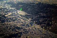Lava field near Halema'uma'u Crater, Kilauea Volcano, Hawai'i Island.