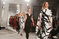 Catwalk<br /> at the Jasper Conran AW17 show as part of London Fashion Week AW17 at Claridges, London.<br /> <br /> <br /> ©Ash Knotek  D3230  17/02/2017