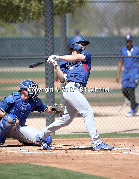 Andrew Shaps - Los Angeles Dodgers 2019 spring training (Bill Mitchell)
