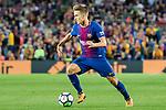 Denis Suarez Fernandez of FC Barcelona  during the La Liga 2017-18 match between FC Barcelona and SD Eibar at Camp Nou on 19 September 2017 in Barcelona, Spain. Photo by Vicens Gimenez / Power Sport Images