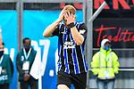 Waldhofs Dominik Martinovic (Nr.11)  beim Spiel in der 3. Liga, SV Waldhof Mannheim - Türgücü München.<br /> <br /> Foto © PIX-Sportfotos *** Foto ist honorarpflichtig! *** Auf Anfrage in hoeherer Qualitaet/Aufloesung. Belegexemplar erbeten. Veroeffentlichung ausschliesslich fuer journalistisch-publizistische Zwecke. For editorial use only. DFL regulations prohibit any use of photographs as image sequences and/or quasi-video.