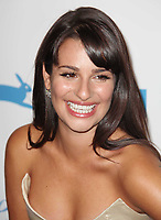 Lea Michele. 9/25/10<br /> Photo by Michael Ferguson/PHOTOlink