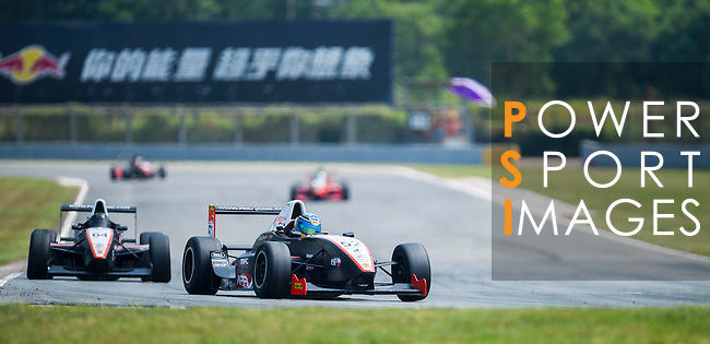 during the 2015 Pan Delta Super Racing Festival at Zhuhai International Circuit on September 18, 2015 in Zhuhai, China.  (Photo by Moses NgPower Sport Images/Getty Images)