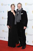 Alison Balsom and Sam Mendes<br /> BAFTA Film Awards 2020 nominees party, Kensington Palace, London.<br /> <br /> ©Ash Knotek  D3553 01/02/2020
