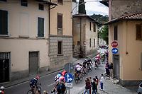 peloton passing through town<br /> <br /> Stage 2: Bologna to Fucecchio (200km)<br /> 102nd Giro d'Italia 2019<br /> <br /> ©kramon