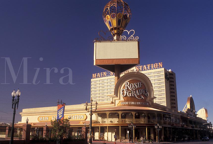 AJ3824, Las Vegas, casinos, Nevada, Rosie O'Gradys restaurant, Main Street Station Casino Brewery Hotel in Las Vegas in the state of Nevada.