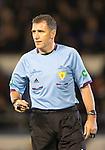Morton v St Johnstone....30.10.13   Scottish League Cup Quarter Final<br /> Referee John McKendrick<br /> Picture by Graeme Hart.<br /> Copyright Perthshire Picture Agency<br /> Tel: 01738 623350  Mobile: 07990 594431