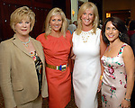 Mary Austin Moody, Anne Carl, Kim Moody and Maria Bush at the Children's Assessment Center luncheon at the InterContinental Hotel Thursday April 16,2009.(Dave Rossman/For the Chronicle)