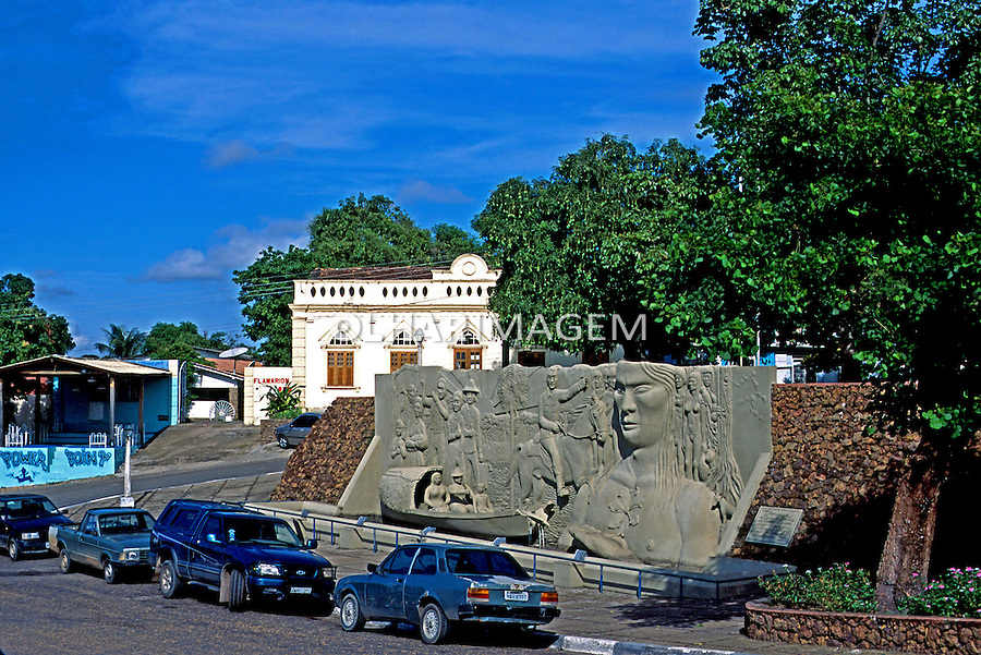Praça Barreto Leite em Boa Vista. Roraima. 2003. Foto de Juca Martins.
