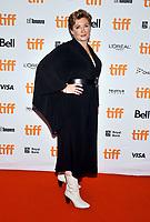 "16 September 2021 - Toronto, Ontario, Canada - Camille Griffin. 2021 Toronto International Film Festival - ""Silent Night"" Premiere held at Roy Thomson Hall. Photo Credit: Brent Perniac/AdMedia"