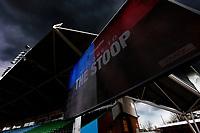 26th December 2020; Twickenham Stoop, London, England; English Premiership Rugby, Harlequins versus Bristol Bears; Dramatic view from inside todays Stadium