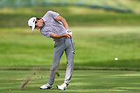 OLYMPIA FIELDS, IL - AUGUST 30: Jaoquin Niemann of Chile hits his tee shot at the 12th hole during the final round of the BMW Championship on the (North) Course at Olympia Fields Country Club