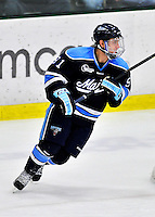 3 December 2011: University of Maine Black Bear forward Klas Leidermark, a Junior from Gavle, Sweden, in action against the University of Vermont Catamounts at Gutterson Fieldhouse in Burlington, Vermont. The Catamounts fell to the Black Bears 5-2 in the second game of their 2-game Hockey East weekend series. Mandatory Credit: Ed Wolfstein Photo