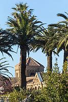 Europe/France/Provence-Alpes-Côte d'Azur/Alpes-Maritimes/Cannes: îIes de Lérins, île de Saint-Honorat : Abbaye de Saint Honorat // Europe/France/Provence-Alpes-Côte d'Azur/Alpes-Maritimes/Cannes:  Lerins island of Saint Honorat