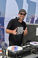 DAYTONA BEACH, FL - SEPTEMBER 05:  American Force DJ at the 2020 Daytona Truck Meet which is The LARGEST truck show in the world! PRESENTED BY AMERICAN FORCE WHEELS with over 35,000 spectators, 100s of vendors, burn out pit, and live entertainment. Trucks are all the rage with Celebrities like Shaquille O'Neal, Lady GaGa, Dwayne Johnson and Kid Rock just to name a few at Daytona International Speedway on September 5, 2020 in Daytona Beach, Florida.<br /> <br /> People:  American Force DJ