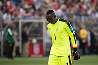 East Hartford, CT - Saturday July 01, 2017: Richard Ofori during an international friendly match between the men's national teams of the United States (USA) and Ghana (GHA) at Pratt & Whitney Stadium at Rentschler Field.