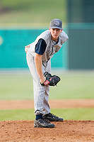 Lake County starting pitcher Ryan Morris (43) looks in to his catcher for the sign versus Kannapolis at Fieldcrest Cannon Stadium in Kannapolis, NC, Saturday, August 11, 2007.