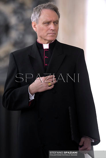 Monsignor Georg Gänswein.Pope Francis during his weekly general audience in St. Peter square at the Vatican, Wednesday.February 19, 2014.