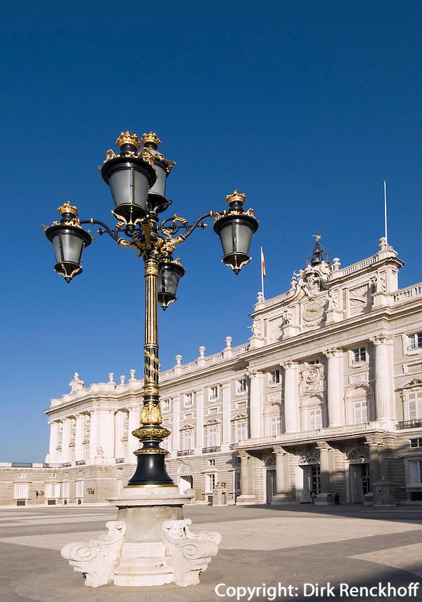 Spanien, Palacio Real (Königspalast) in Madrid
