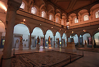 Tunisia. Inside The Bardo Museum.